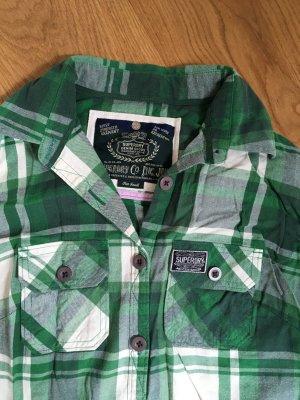 Superdry Holzfällerhemd grün, S