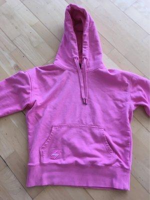 Superdry Jersey con capucha rosa