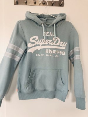 Superdry Hooded Sweater baby blue-turquoise