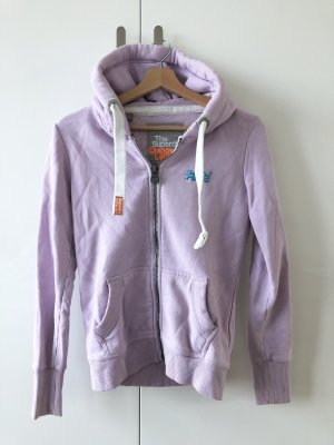 Superdry Sweat Jacket light pink