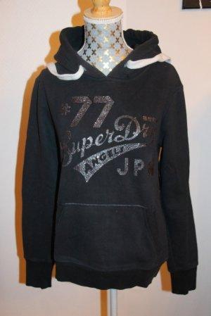 Superdry Hoodie Sweatshirt Gr. S Glitzer