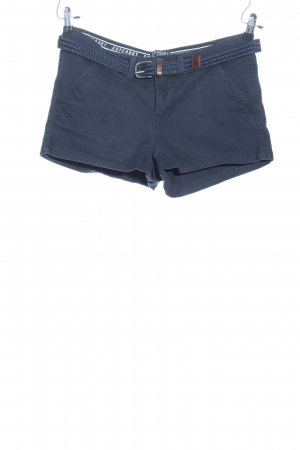 Superdry Hot Pants blau Street-Fashion-Look