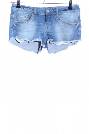 Superdry Hot pants blu stile casual