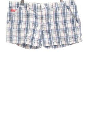Superdry Hot Pants Karomuster Casual-Look