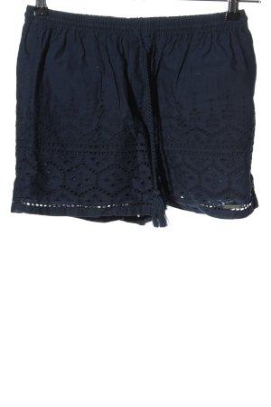Superdry Hot Pants blau Casual-Look