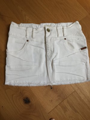 Superdry Jeans Minirock weiß, Gr.S