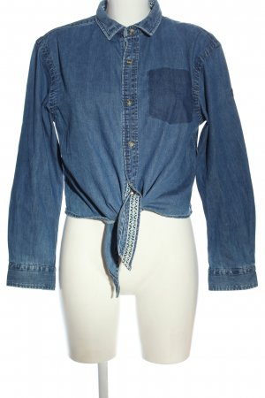 Superdry Denim Shirt blue casual look