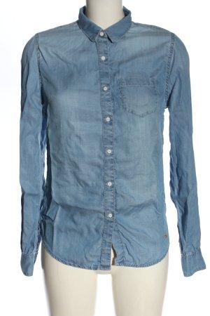 Superdry Chemise en jean bleu style décontracté