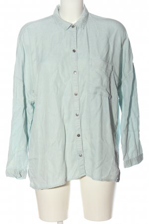 Superdry Denim Shirt turquoise casual look