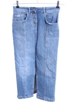 Superdry Gonna di jeans blu stile casual
