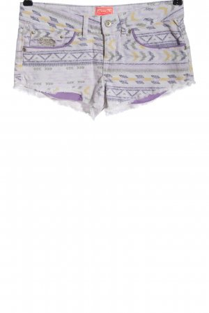 Superdry Jeansshorts Allover-Druck Casual-Look