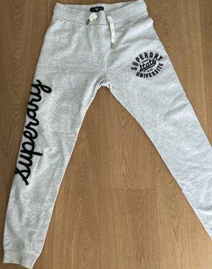 Superdry Pantalón deportivo gris claro-azul oscuro