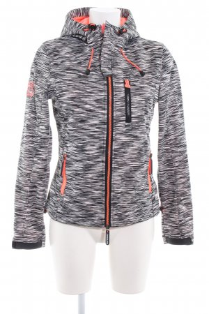 Superdry Hoody abstract print athletic style