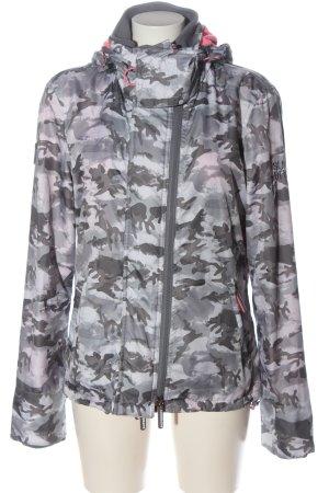 Superdry Kapuzenjacke Camouflagemuster Casual-Look