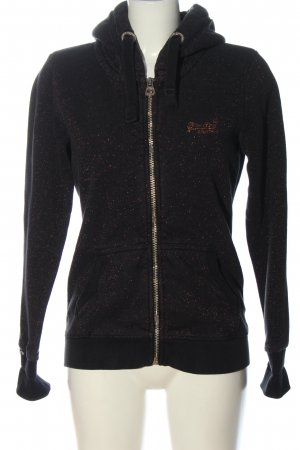 Superdry Kapuzensweatshirt schwarz Casual-Look