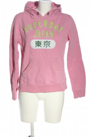 Superdry Kapuzensweatshirt Motivdruck Casual-Look