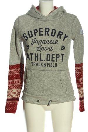 Superdry Kapuzensweatshirt grafisches Muster Casual-Look