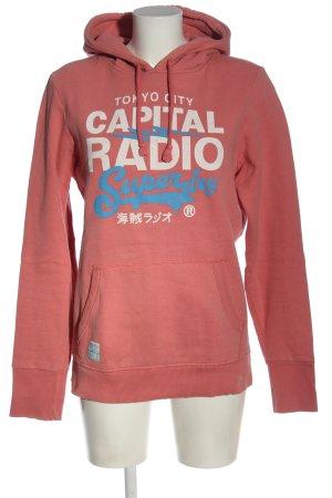 Superdry Kapuzensweatshirt Schriftzug gedruckt Casual-Look