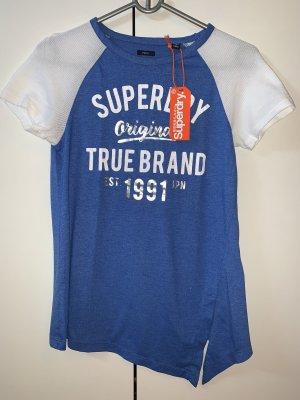 Superdry LA T-Shirt mit Zierknoten vorne - Neu