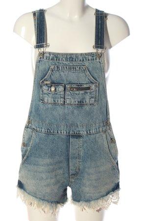 Superdry Bib Shorts blue casual look