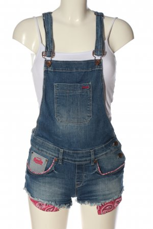 Superdry Bib Shorts blue casual look
