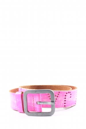 Superdry Faux Leather Belt pink casual look