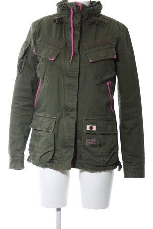 Superdry Militaryjacke khaki-pink Casual-Look