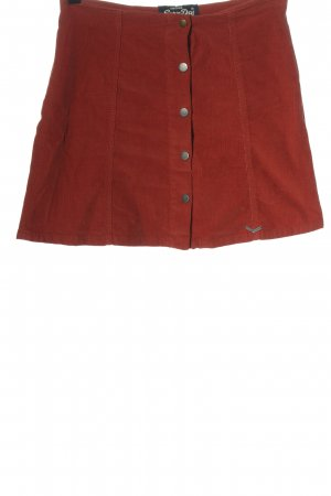 Superdry Minirock rot Casual-Look