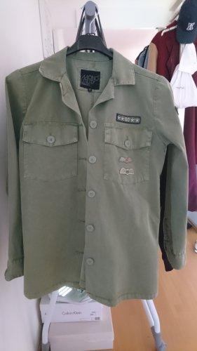 Superdry Giacca militare multicolore Cotone