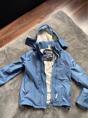 Superdry Outdoor Jacket cornflower blue