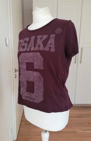 Superdry Osaka Shirt in Aubergine