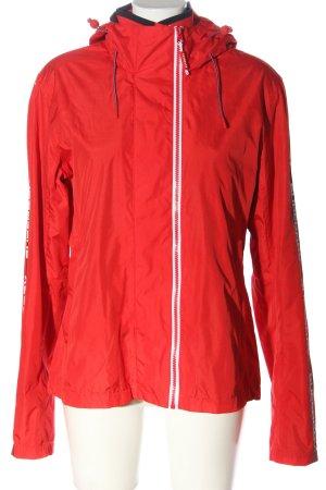 Superdry Kurtka outdoor czerwony W stylu casual