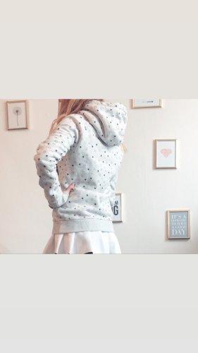 Superdry Cárdigan largo color plata-gris claro
