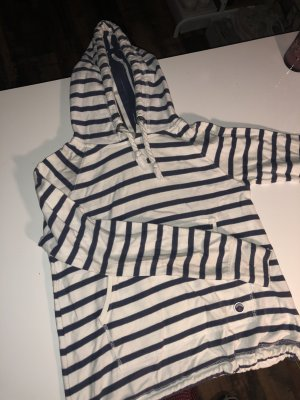 Superdry Hooded Sweater white-dark blue