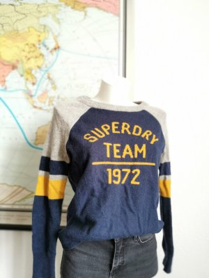 Superdry Maglione di lana multicolore