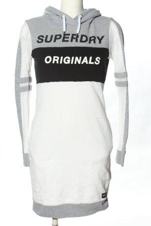 Superdry Pulloverkleid Schriftzug gedruckt Casual-Look