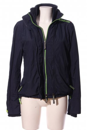 Superdry Raincoat blue-green simple style