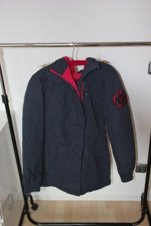 Superdry Winter Jacket dark blue