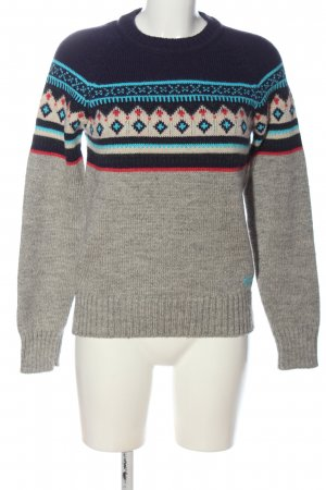 Superdry Rundhalspullover grafisches Muster Casual-Look
