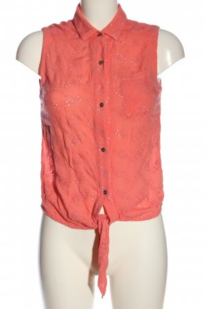 Superdry Schlupf-Bluse pink Casual-Look