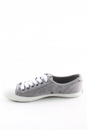 Superdry Lace Shoes light grey flecked casual look
