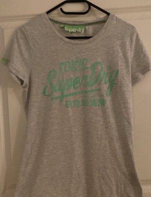 Superdry Shirt Gr L hellgrau Tokyo