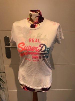 Superdry Shirt gr M weiss