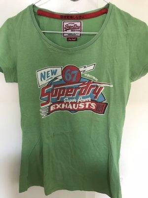 Superdry Shirt grün Größe S
