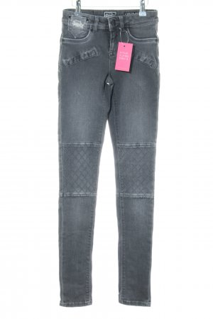 Superdry Skinny Jeans silberfarben Casual-Look