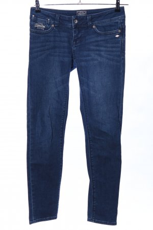 Superdry Skinny Jeans blau Business-Look