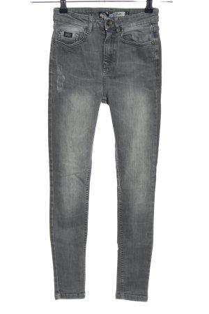 Superdry Skinny Jeans hellgrau Casual-Look