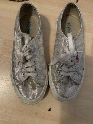 Superdry Sneaker Gr 35 Silber
