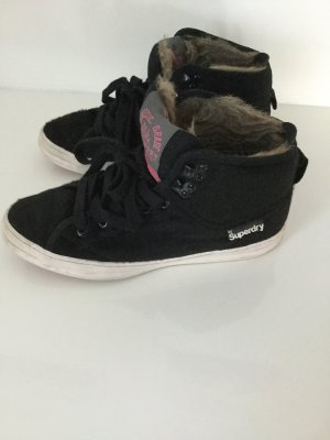 Superdry Sneakers mit Kuhfelloptik, Gr 37