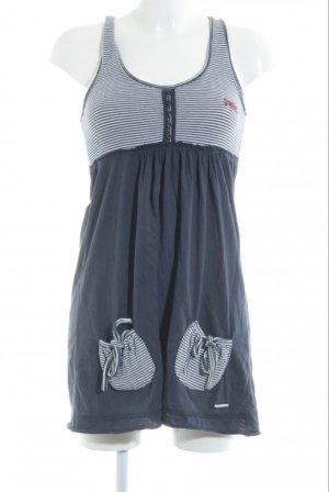 Superdry Sweat Dress white-blue